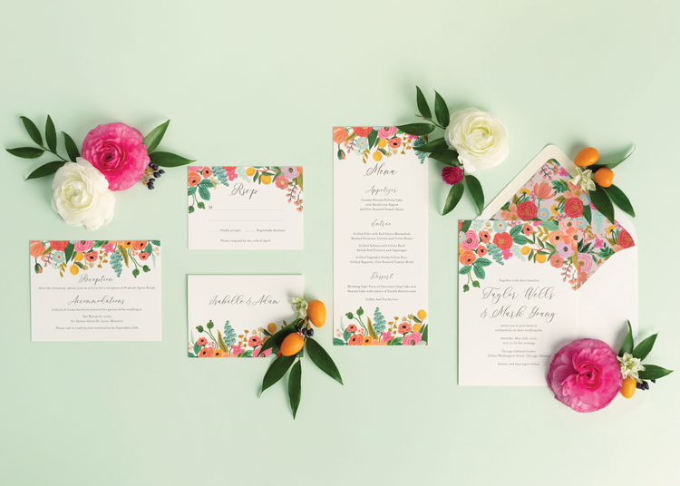 Rifle Paper Co. for Paper Source Garden Party Suite