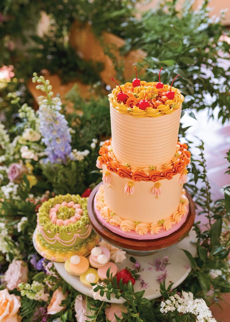 London Season - Orange Cake