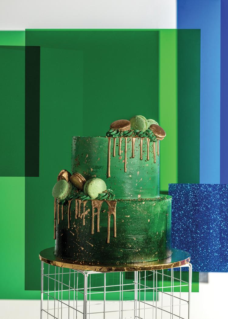 Technicolor - Green Cake