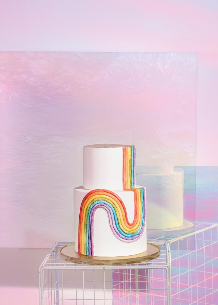 Technicolor - Rainbow Cake